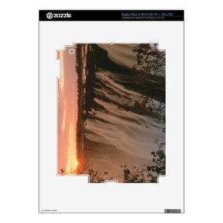Victoria Falls with sun on horizon, Victoria iPad 3 Decal