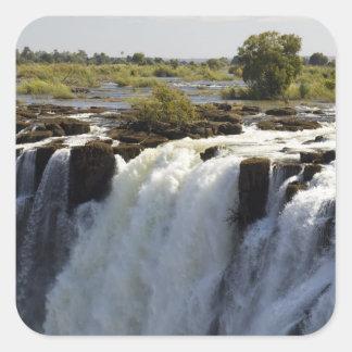 Victoria Falls, Zambesi River, Zambia. 2 Square Sticker