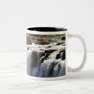 Victoria Falls, Zambesi River, Zambia. 2 Two-Tone Coffee Mug