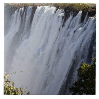 Victoria Falls, Zambesi River, Zambia. Ceramic Tile
