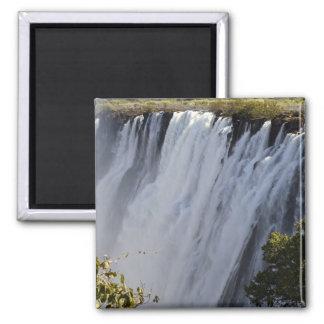 Victoria Falls, Zambesi River, Zambia. Magnet
