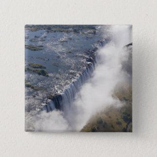 Victoria Falls, Zambesi River, Zambia - Pinback Button