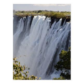 Victoria Falls, Zambesi River, Zambia. Postcard