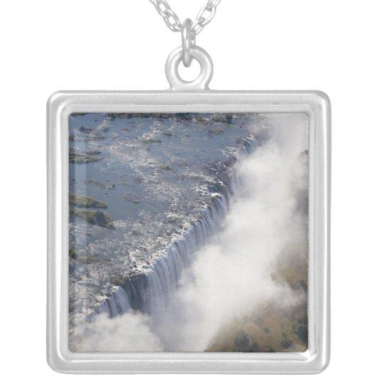 Victoria Falls, Zambesi River, Zambia - Silver Plated Necklace