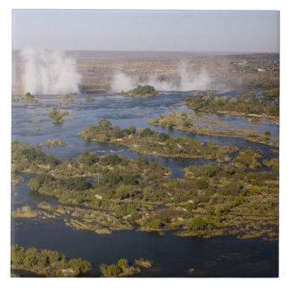 Victoria Falls, Zambesi River, Zambia - Zimbabwe 2 Ceramic Tile