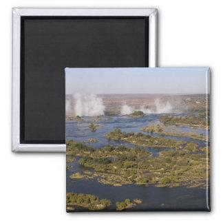 Victoria Falls, Zambesi River, Zambia - Zimbabwe 2 Magnet