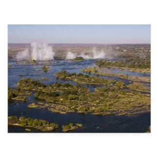 Victoria Falls, Zambesi River, Zambia - Zimbabwe 2 Postcard