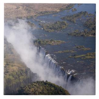 Victoria Falls, Zambesi River, Zambia - Zimbabwe Ceramic Tile