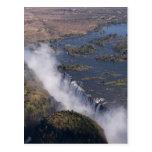 Victoria Falls, Zambesi River, Zambia - Zimbabwe Post Card