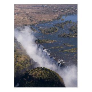 Victoria Falls, Zambesi River, Zambia - Zimbabwe Postcard