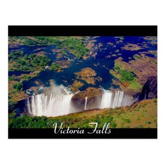 victoria falls zim postcard
