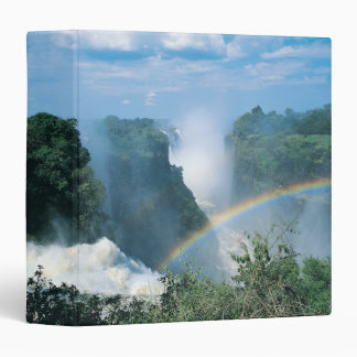 Victoria Falls, Zimbabwe 3 Ring Binder