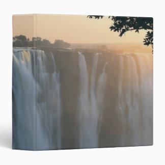Victoria Falls, Zimbabwe, Africa 3 Ring Binder