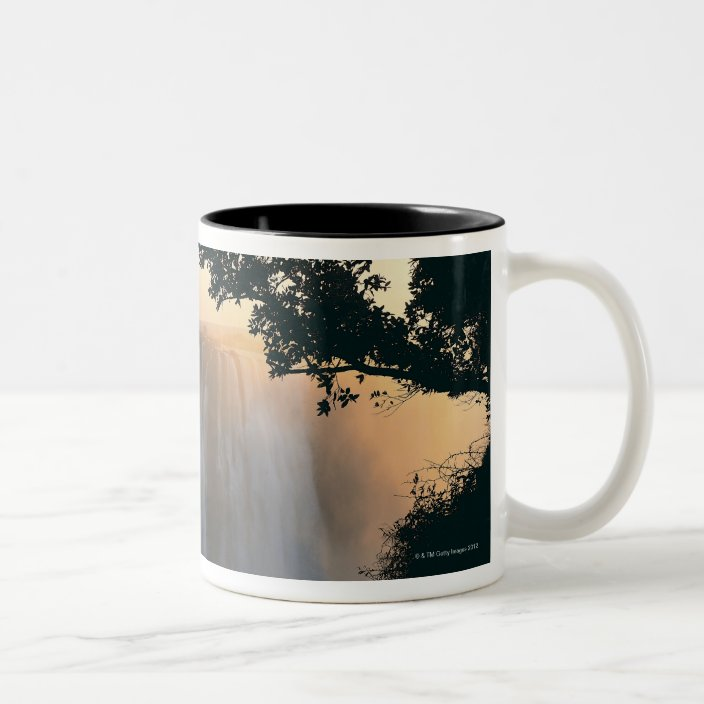Victoria Falls Zimbabwe Africa Two Tone Coffee Mug Zazzle Com