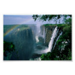 victoria falls, zimbabwe poster