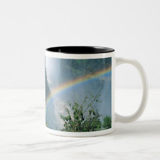 Victoria Falls, Zimbabwe Two-Tone Coffee Mug