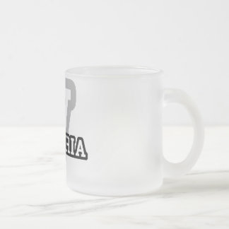 Victoria Frosted Glass Coffee Mug