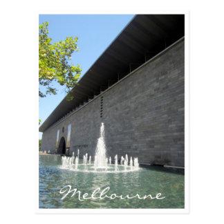 victoria gallery fountain postcard