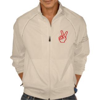 VICTORIA Gesto del símbolo del dedo del ganador Camiseta