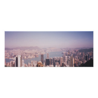 Victoria Harbour_Hong Kong Poster