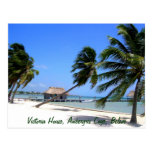 Victoria House Ambergris Caye Belize Postcard