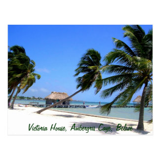 Victoria House Ambergris Caye Belize Postcard