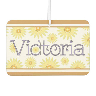 "Victoria ""Isn't Life Daisy"" Design Car Air Freshener"