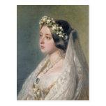 Victoria la novia tarjeta postal