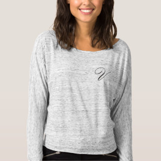 Victoria Lavender Women's Bella+Canvas Flowy Off S T-shirt