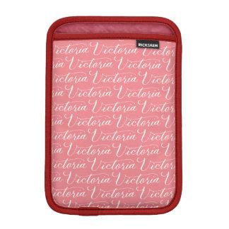 Victoria - Modern Calligraphy Name Design iPad Mini Sleeve