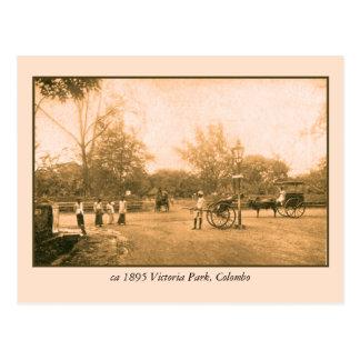 Victoria Park Colombo Ceylon Sri Lanka Postcard