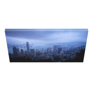 Victoria Peak Hong Kong Gallery Wrapped Canvas