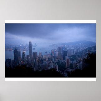 Victoria Peak, Hong Kong. Print