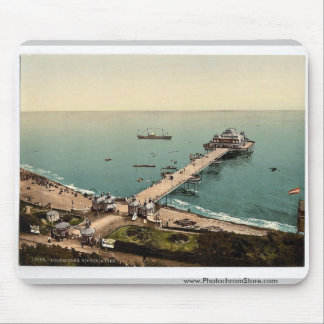 Victoria Pier, Folkestone, England rare Photochrom Mouse Pad