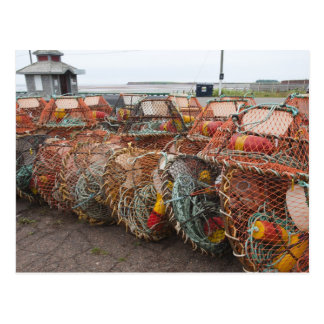 Victoria, Prince Edward Island. Crab pots Postcard