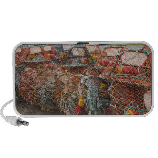 Victoria, Prince Edward Island. Crab pots Laptop Speakers