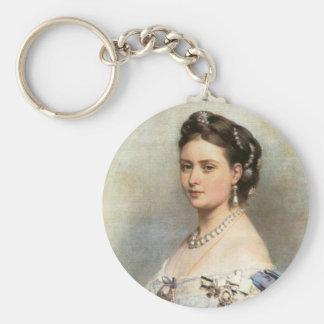 Victoria, Princess Royal Basic Round Button Keychain
