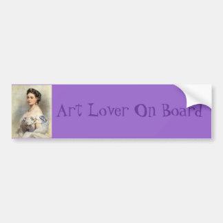 Victoria, Princess Royal Car Bumper Sticker