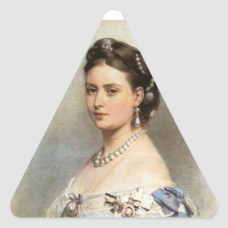 Victoria, Princess Royal Triangle Sticker