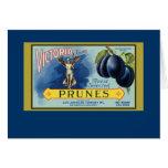 Victoria San Francisco Prunes Card