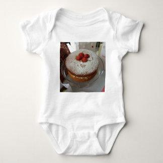 Victoria Sponge Cake Baby Bodysuit