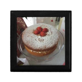Victoria Sponge Cake Jewelry Box
