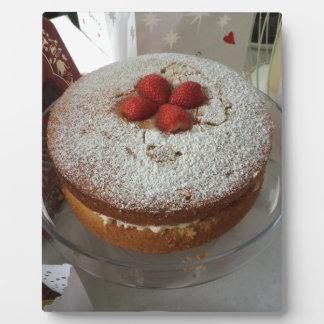 Victoria Sponge Cake Plaque