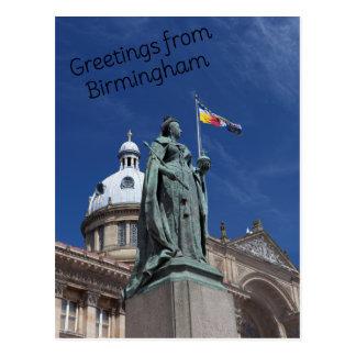 Victoria Square Birmingham Postcard