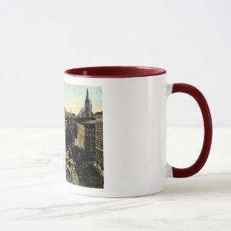Victoria Square, Montreal Vintage Mug