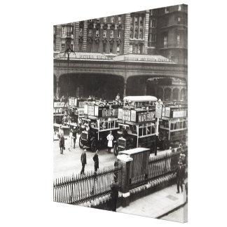 Victoria Station, 1920s Canvas Print