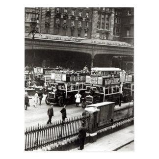 Victoria Station, 1920s Postcard
