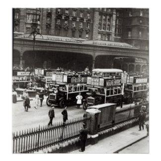 Victoria Station, 1920s Poster