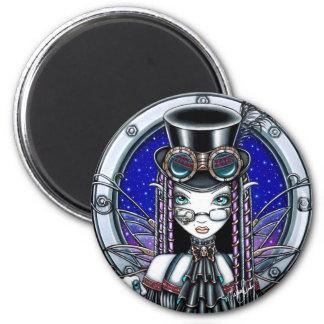 Victoria Steam Punk Faerie Magnet