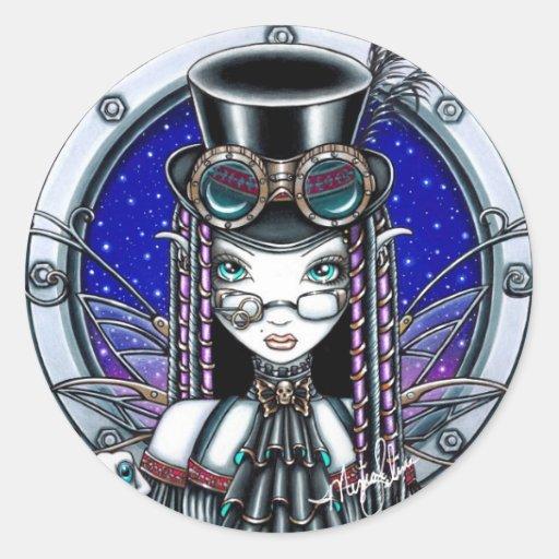 Victoria Steam Punk Faerie Stickers